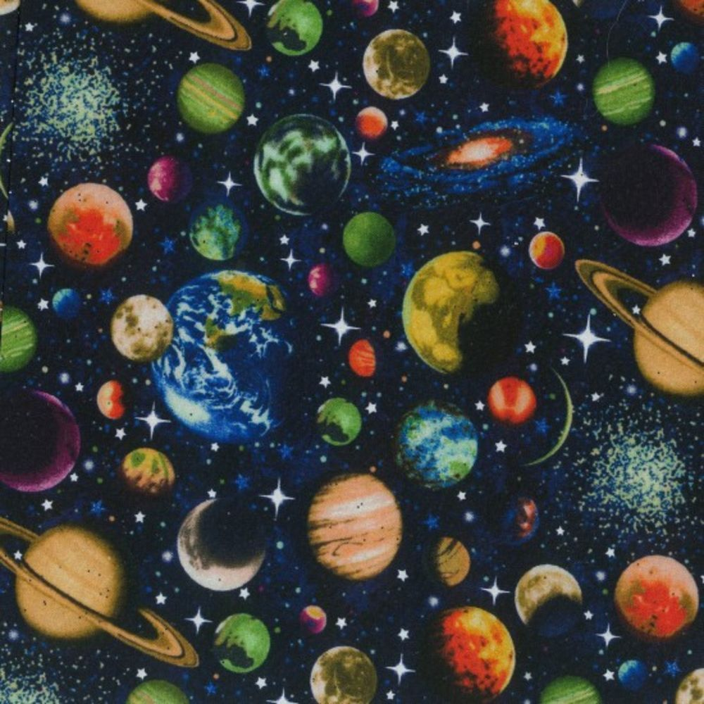 Nutex - Solar Sytsem - Scattered Planets With Glitter