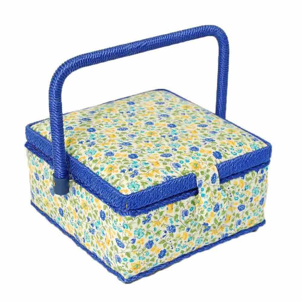 End Of Line - Premium Small Square Victorian Birdsong Sewing Box