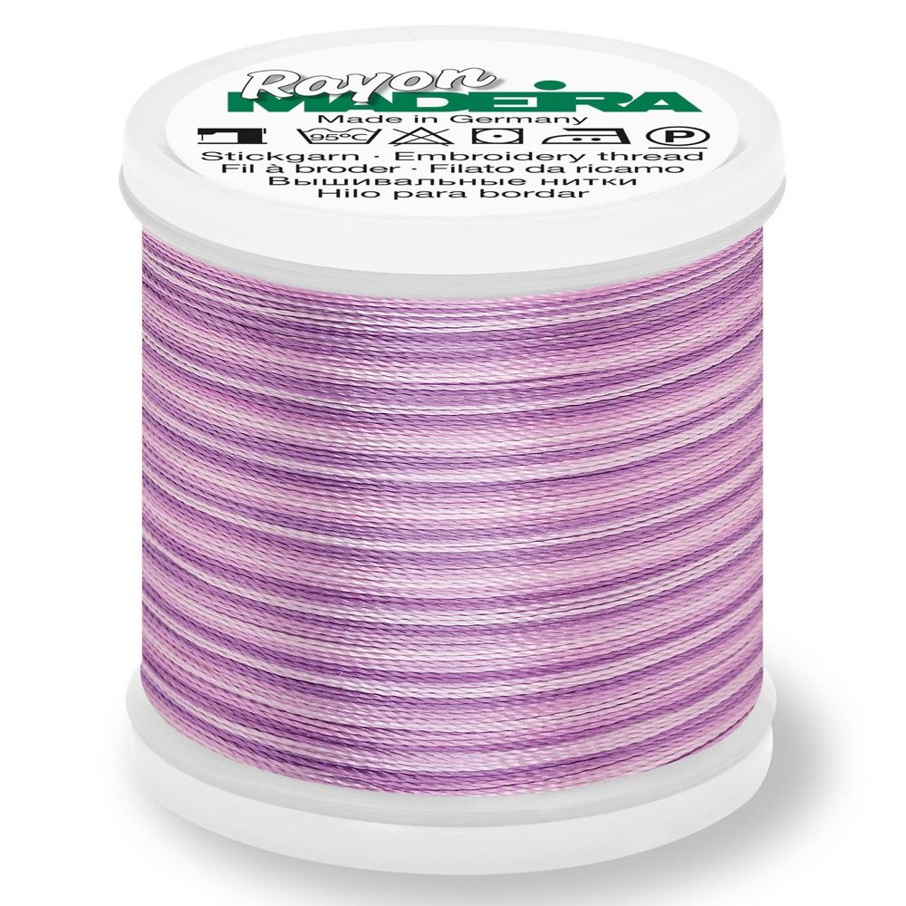 Madeira Rayon No 40 Machine Embroidery Thread 200m Reel - Ombre Colour 2014