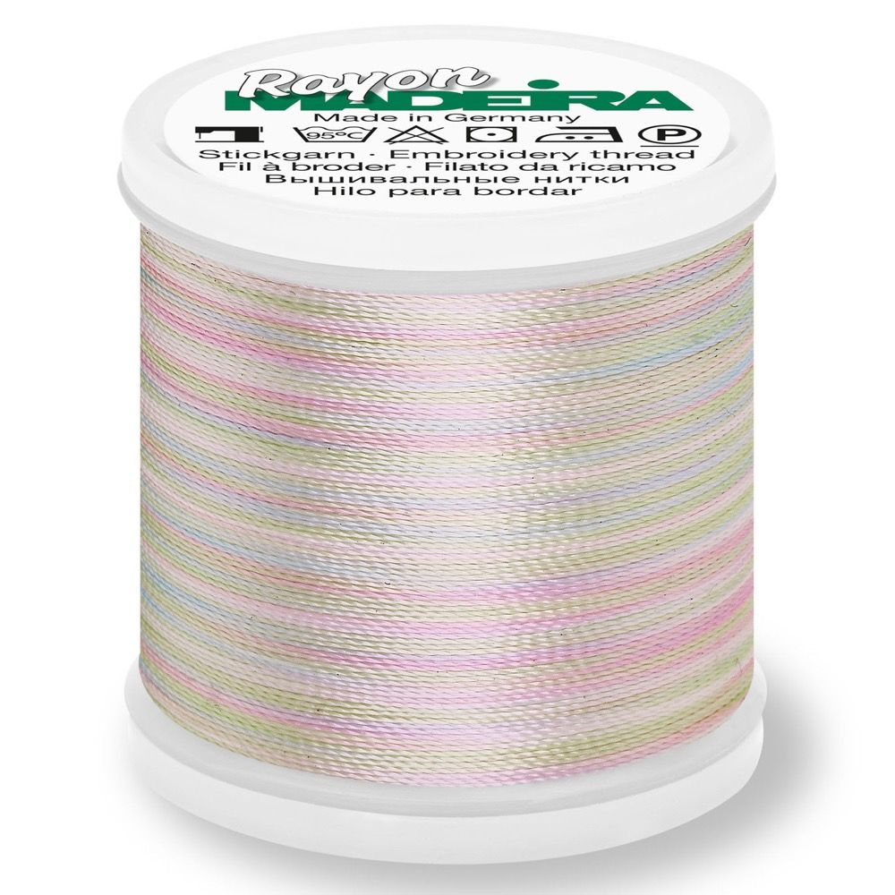 Madeira Rayon No 40 Machine Embroidery Thread 200m Reel - Multi-Colour 2101