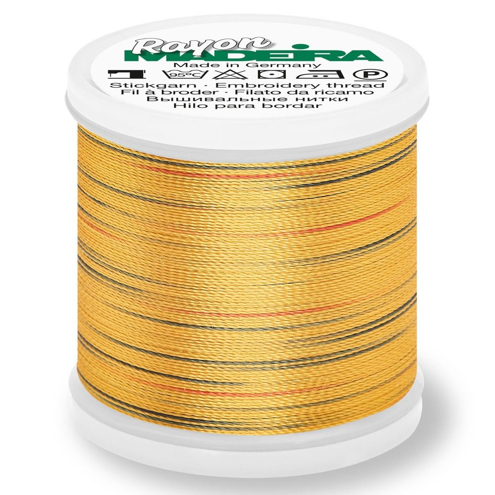 Madeira Rayon No 40 Machine Embroidery Thread 200m Reel - Potpourri Colour 2314