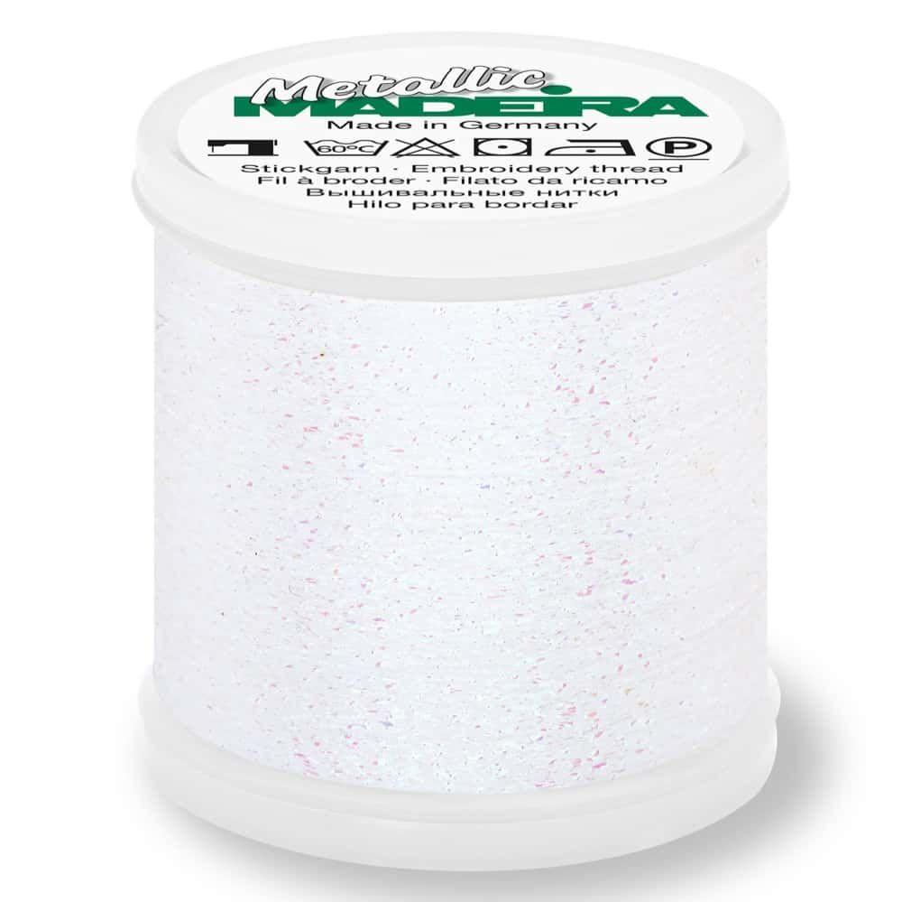 Madeira Metallic Sparkling Sewing And Embroidery Thread 200m - Colour 300 Diamond