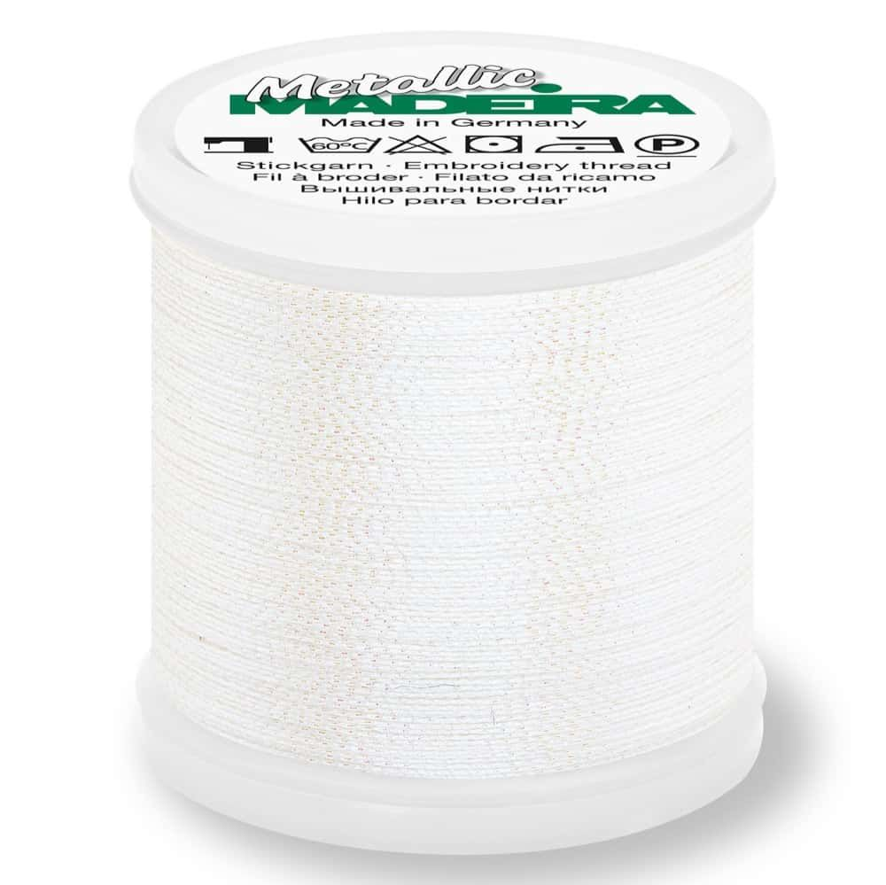 Madeira Metallic Soft Sewing And Embroidery Thread 200m - Colour 491 Diamond