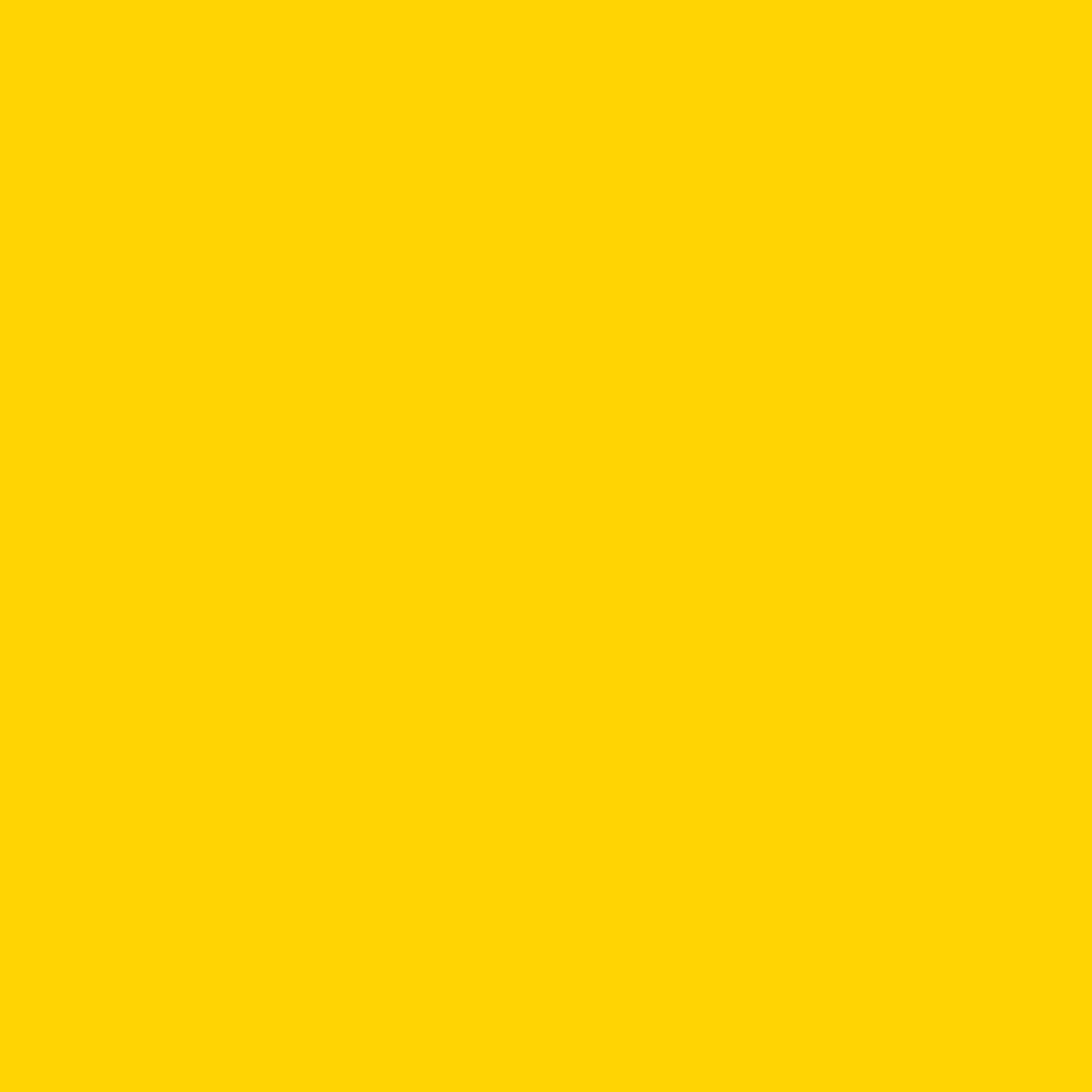 Cotton Spandex Jersey - Solid Daffodil Yellow Knit Fabric