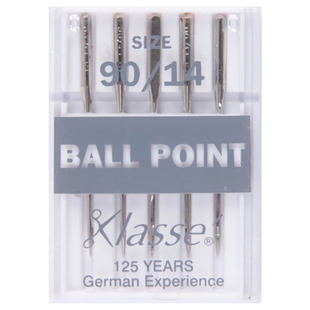 Klasse Machine Needles Ball Point - Size 90/14