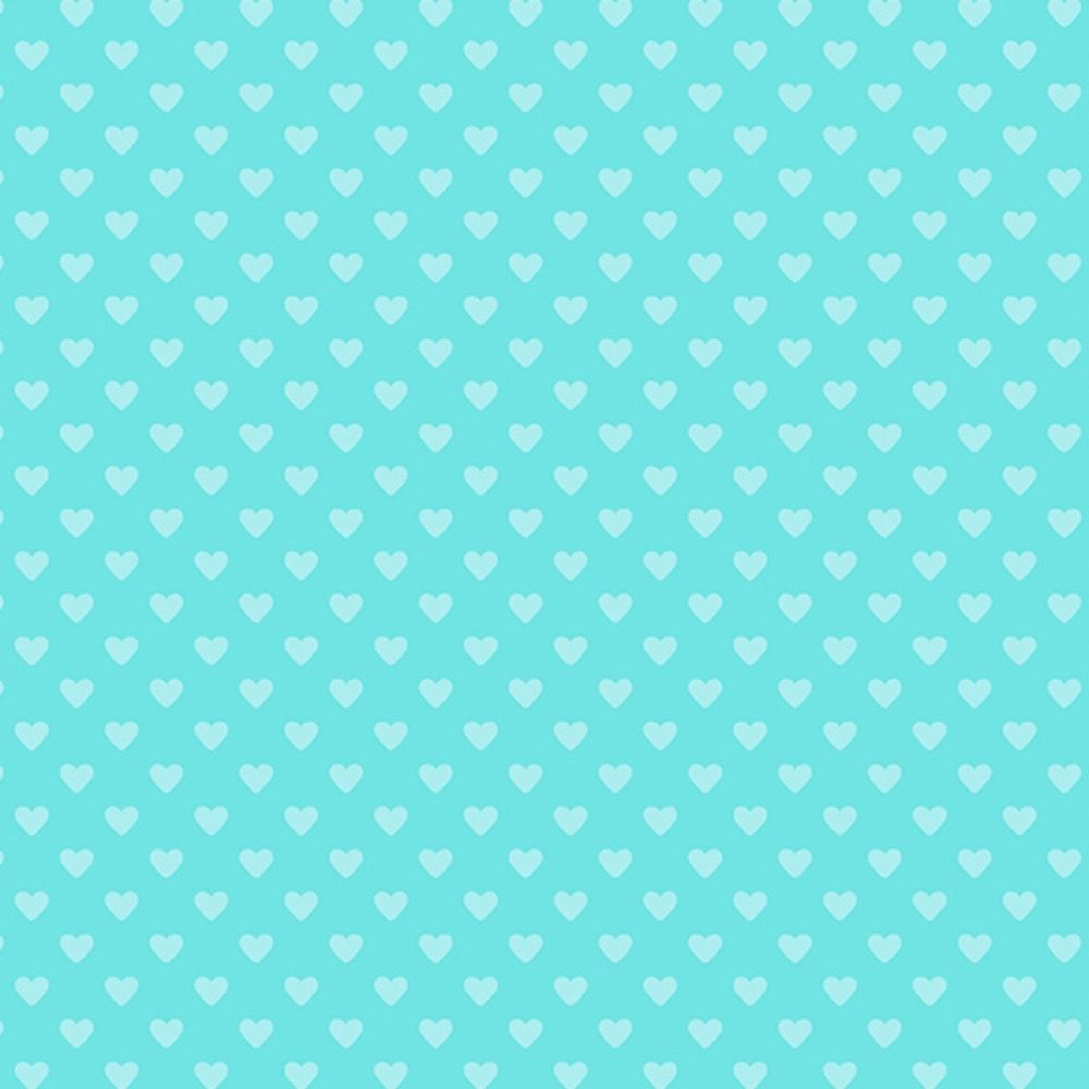 Andover - Hearts - Hearts Turquoise