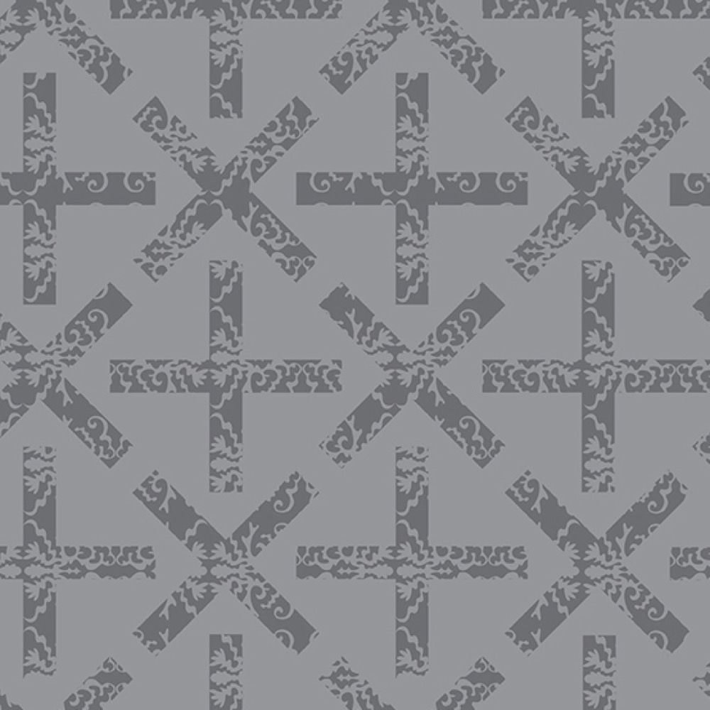 Andover - Art Theory - X And + Light Grey