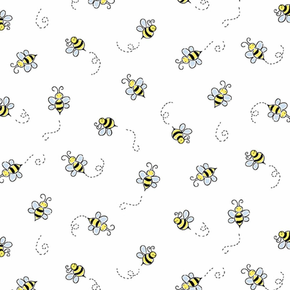 Andover - Bumble Bee - White
