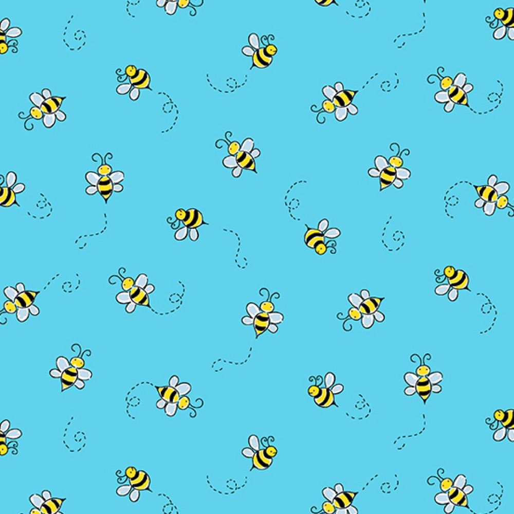 Andover - Bumble Bee - Teal