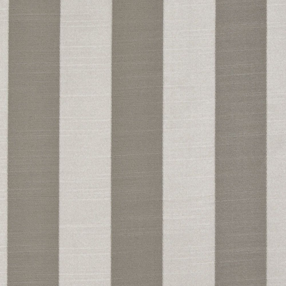 Ascot Stripe - Grey - Curtain Fabric