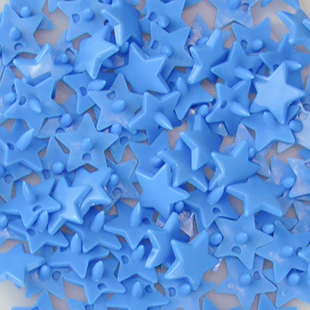 Remnant - Star Kam Snaps - Size 20 - B08 Bright Blue - 100 Sets - End of Line