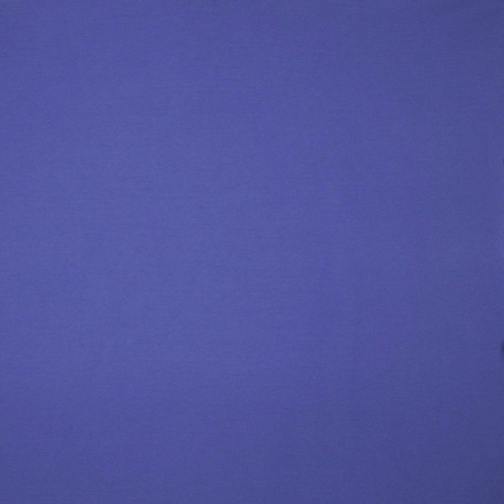 Solid Colour Bamboo Jersey Fabric - Cobalt