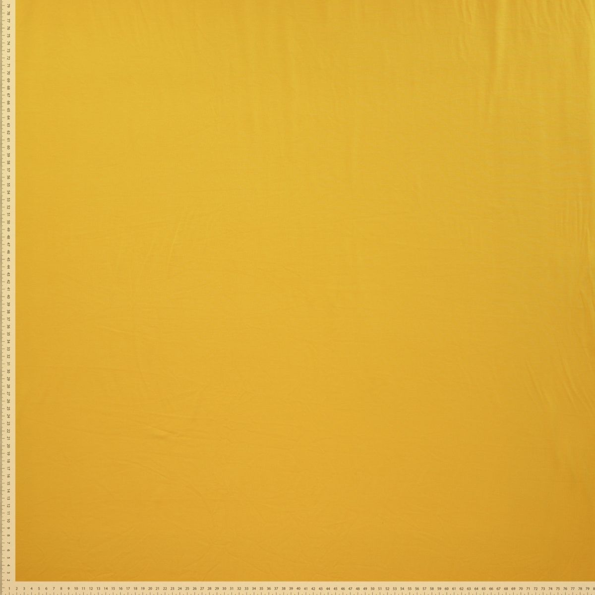 Solid Colour Organic Bamboo Jersey Fabric - Yellow