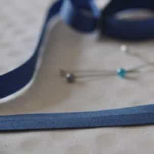 25mm Bias Binding Wedgewood Blue