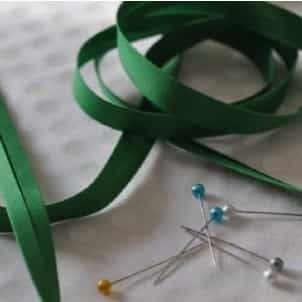 25mm Bias Binding Emerald