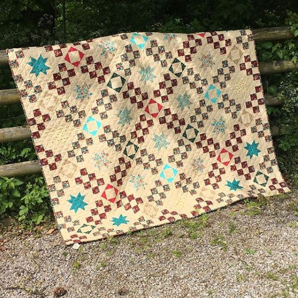 Makower: BloomQuilt Pattern Free Project: Instant Download