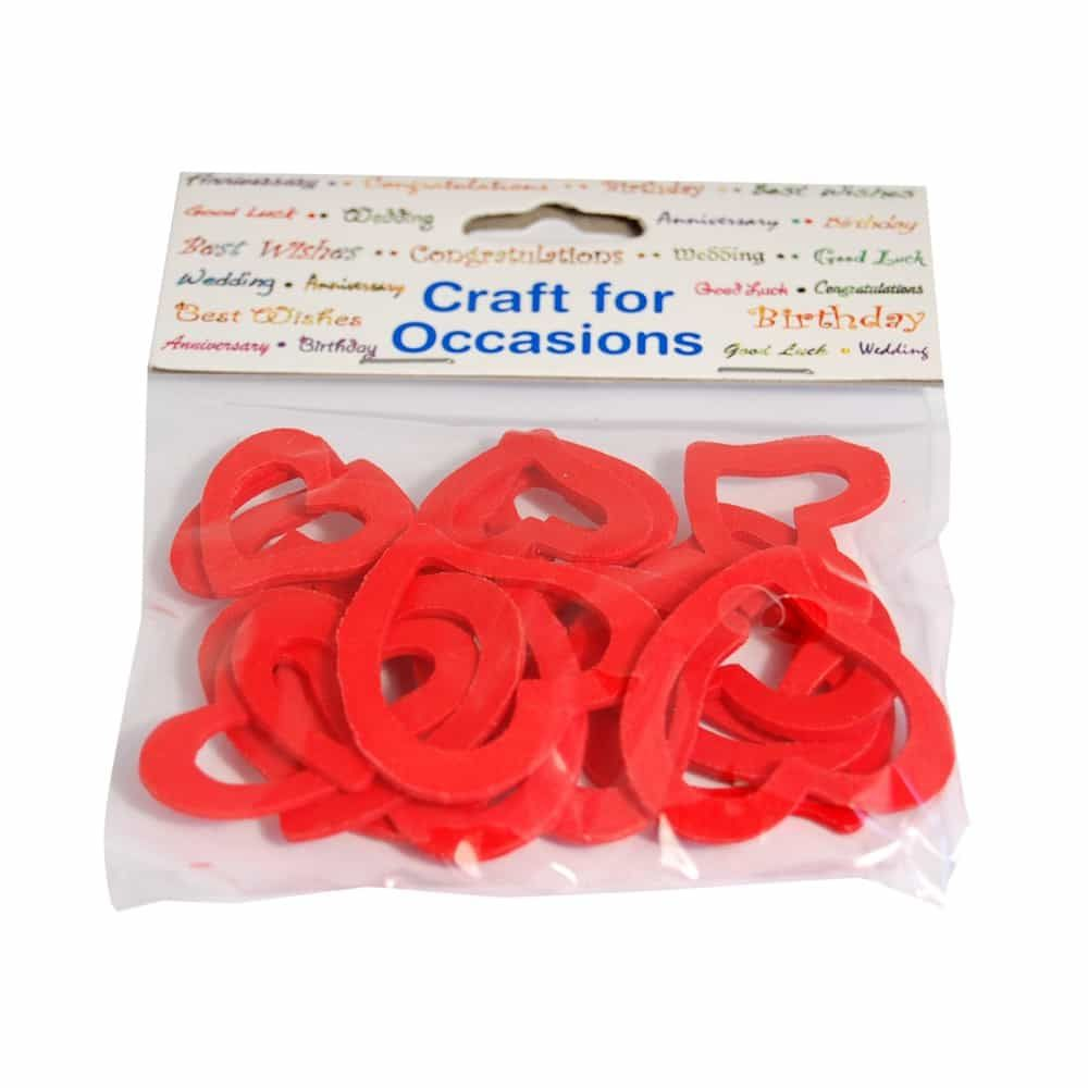 Remnant -Outline Love Hearts 2 Sizes - 30mm & 40mm - 20 Per Pack - End of Line