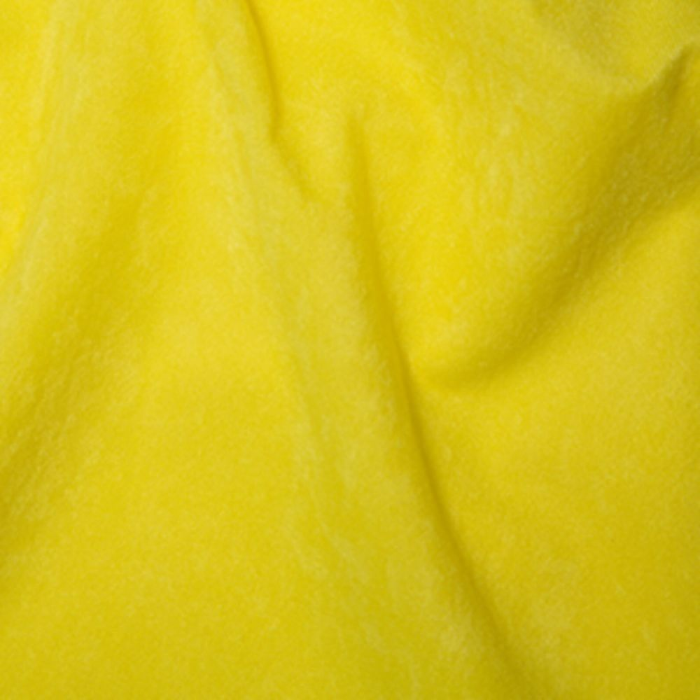 Yellow Suede Cloth