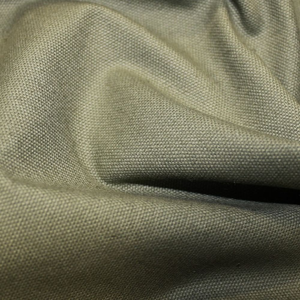 Solid Cotton Canvas - Khaki