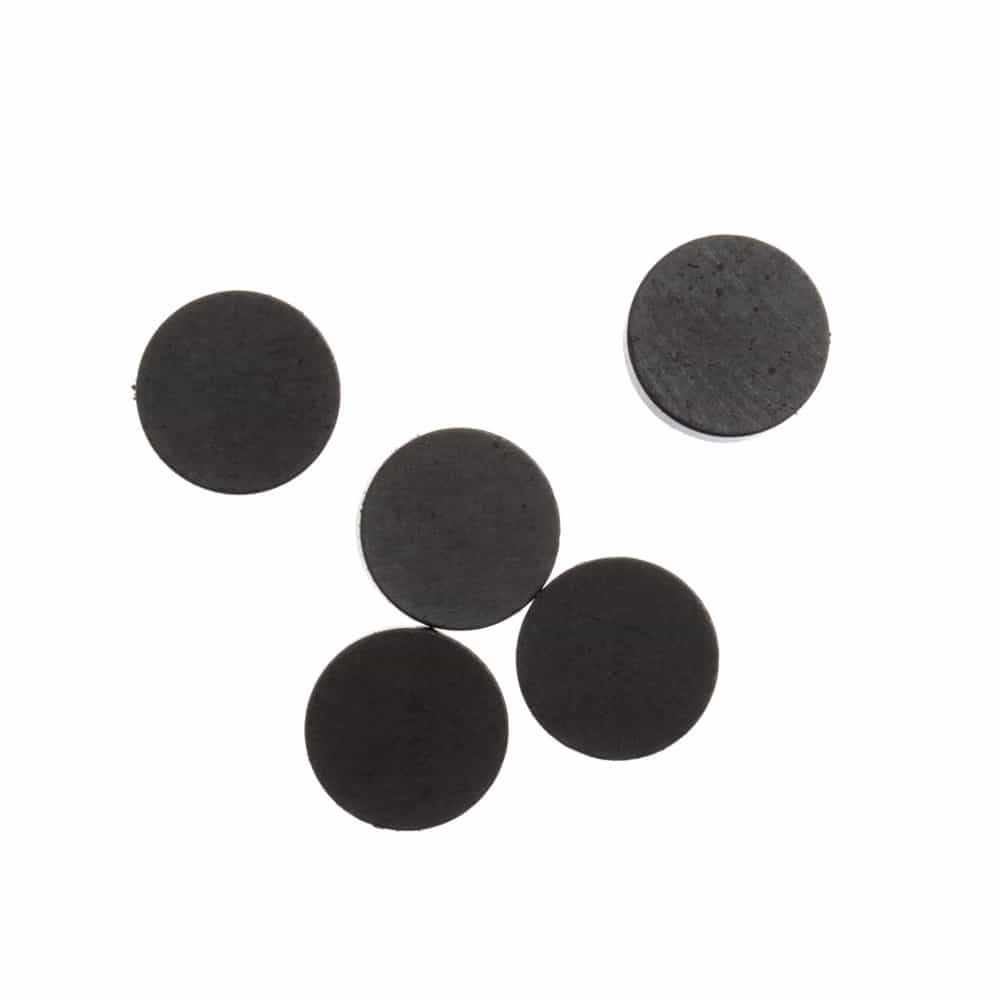 Round Safety Magnet 15mm - 5 Per Pack
