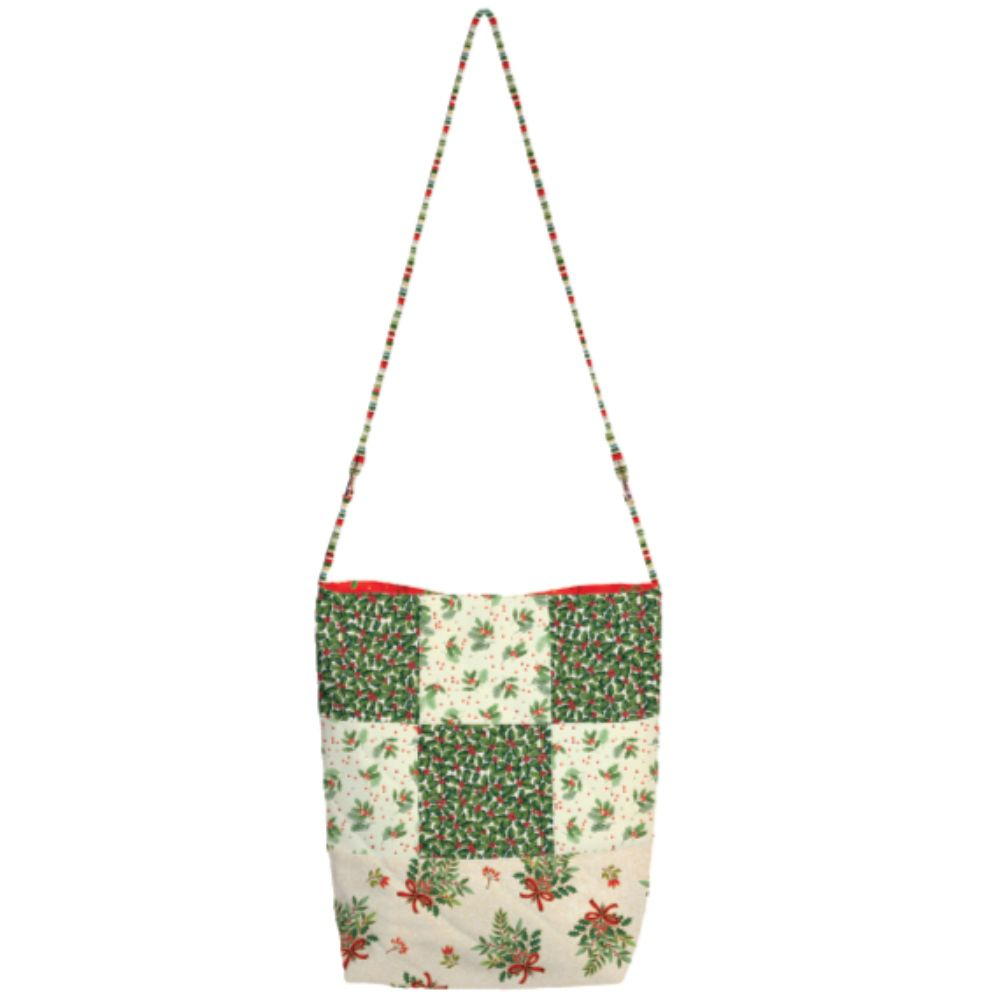 Makower - Classic Foliage- Every Day Patchwork Bag Free Project - Free Instant Download