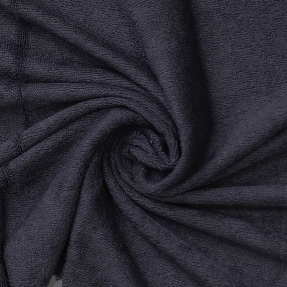 Top Quality Bamboo Terry Towelling - Dark Grey