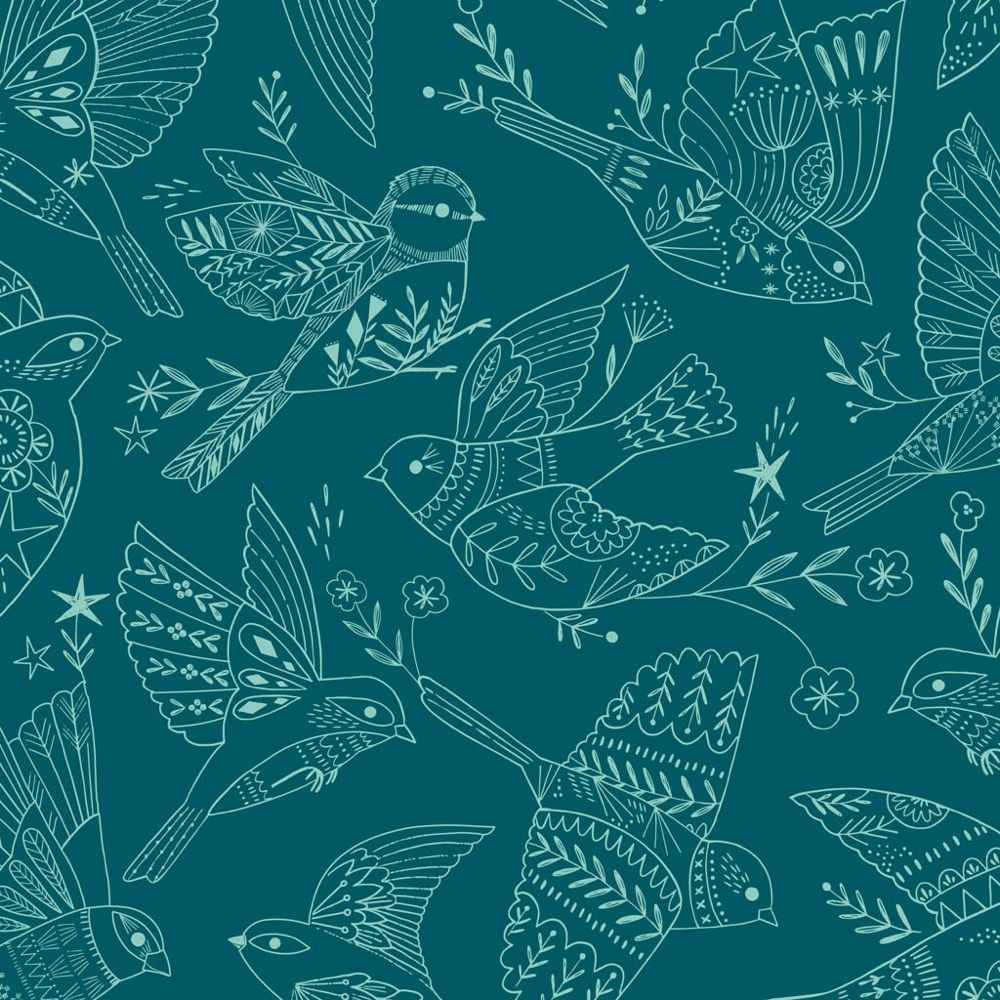 Dashwood Studio - Aviary - Birds Outline