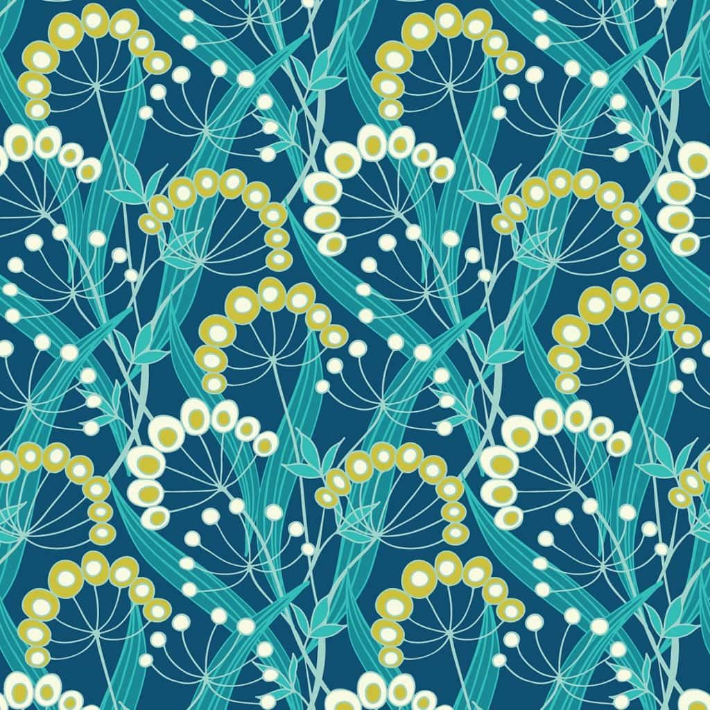 Dashwood Studio - Belle Epoque - Seedheads On Blue