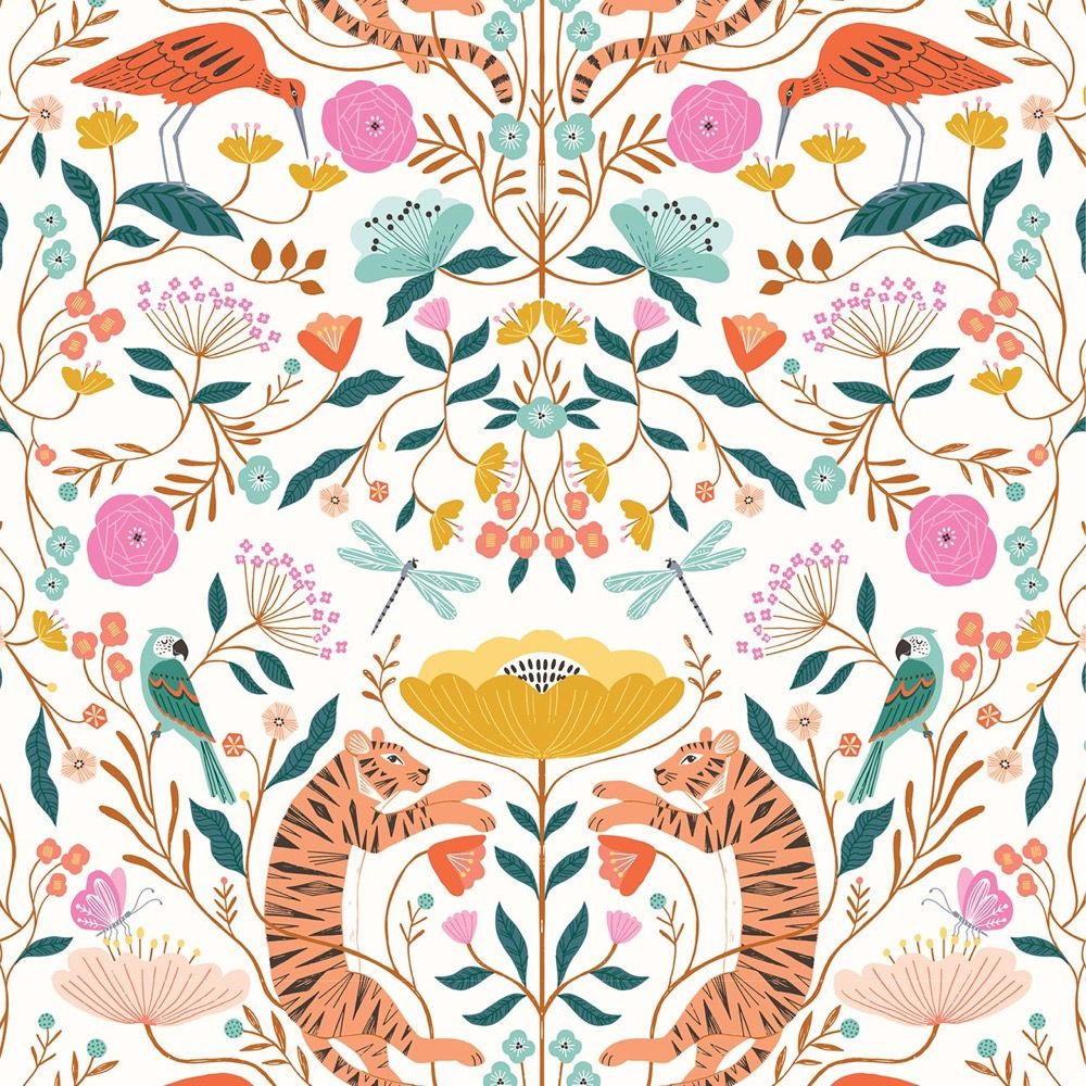Dashwood Studio - Our Planet - Tigers White