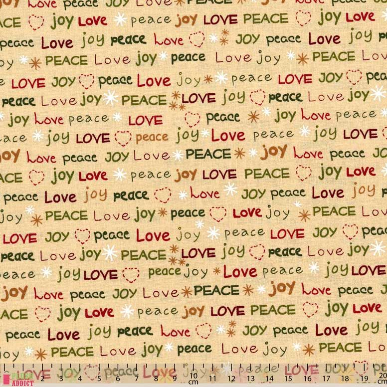 Marcus Fabric - All Wrapped Up - Love Joy Peace