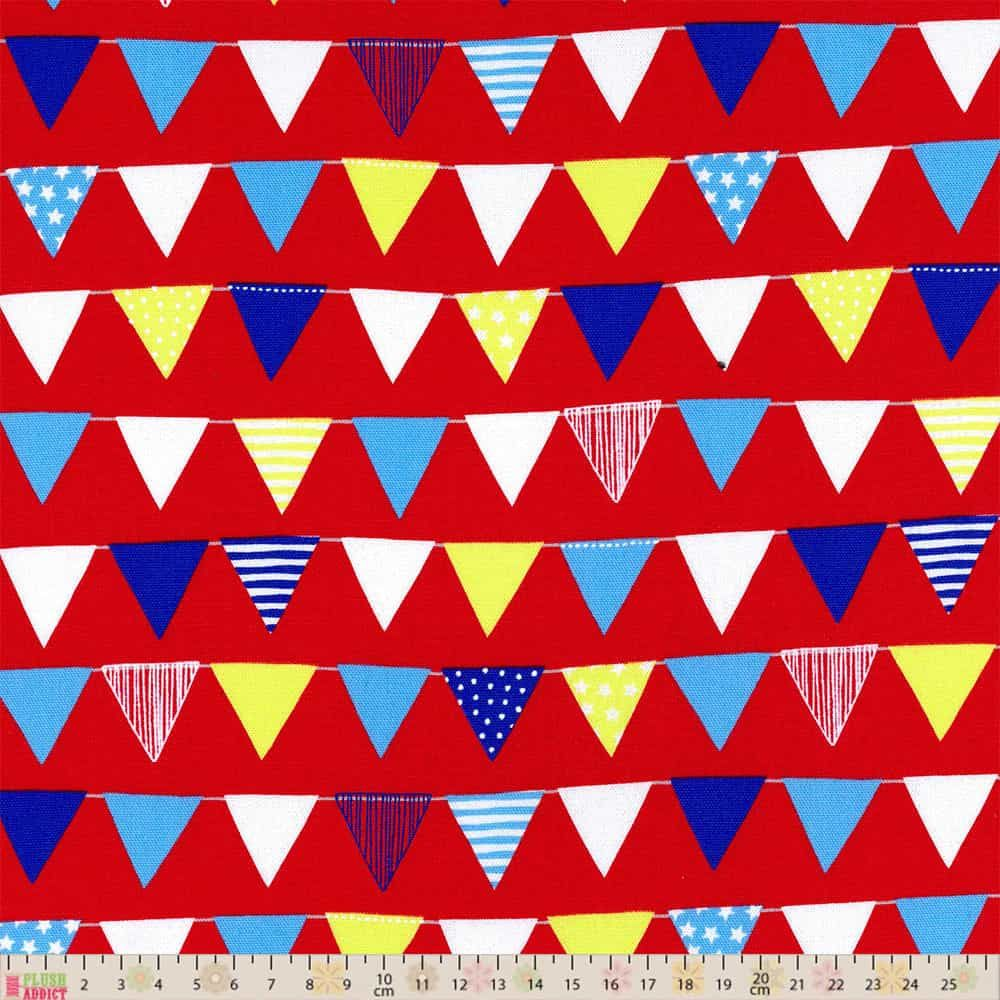 Lecien - Color Basic - Bunting Red