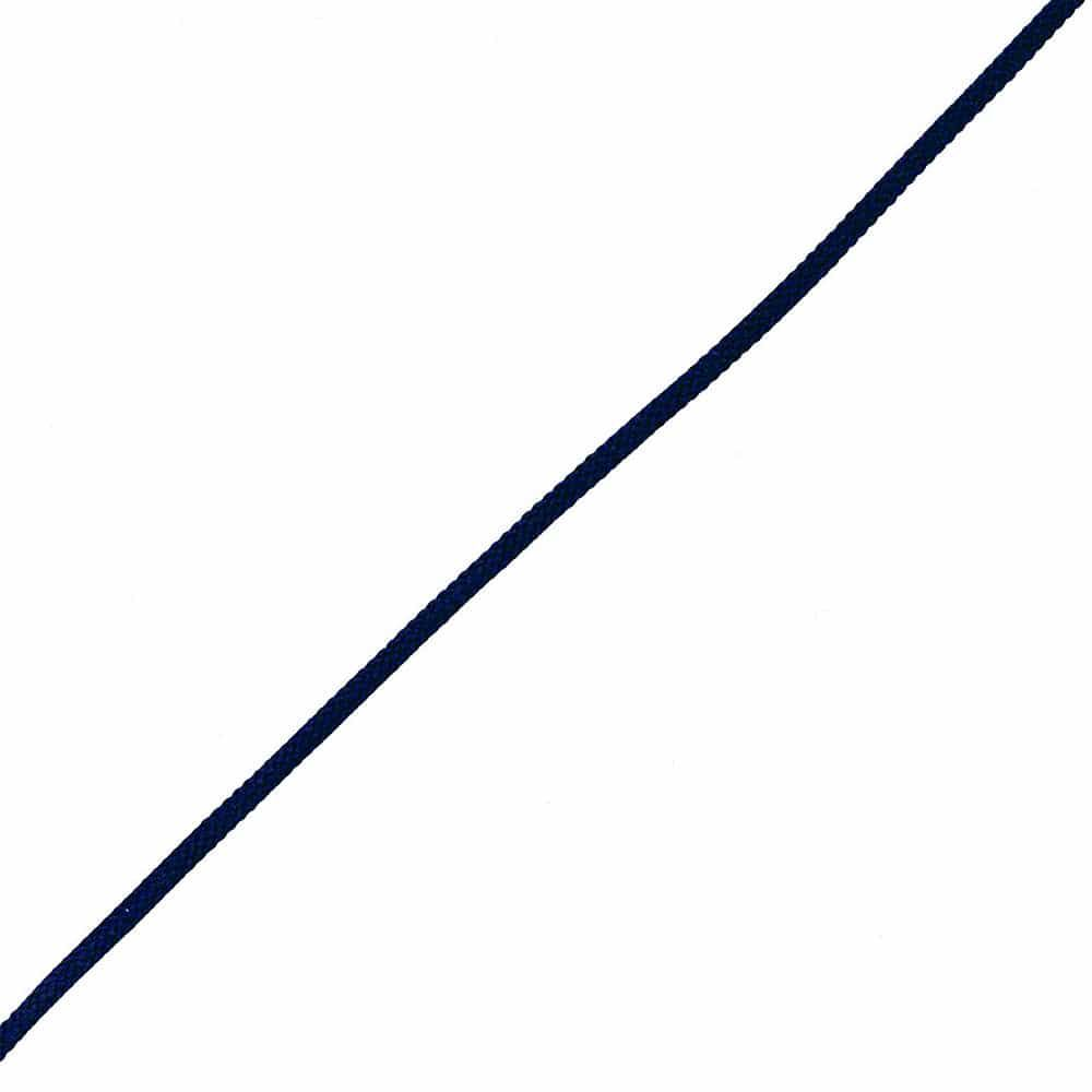 Polyester Woven Cord - Navy
