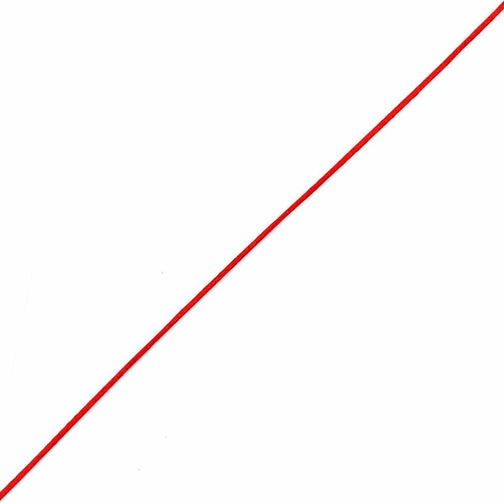 Satin Cord / Rattail Red 2mm