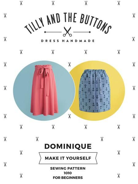 Tilly And The Buttons Dominique Skirt