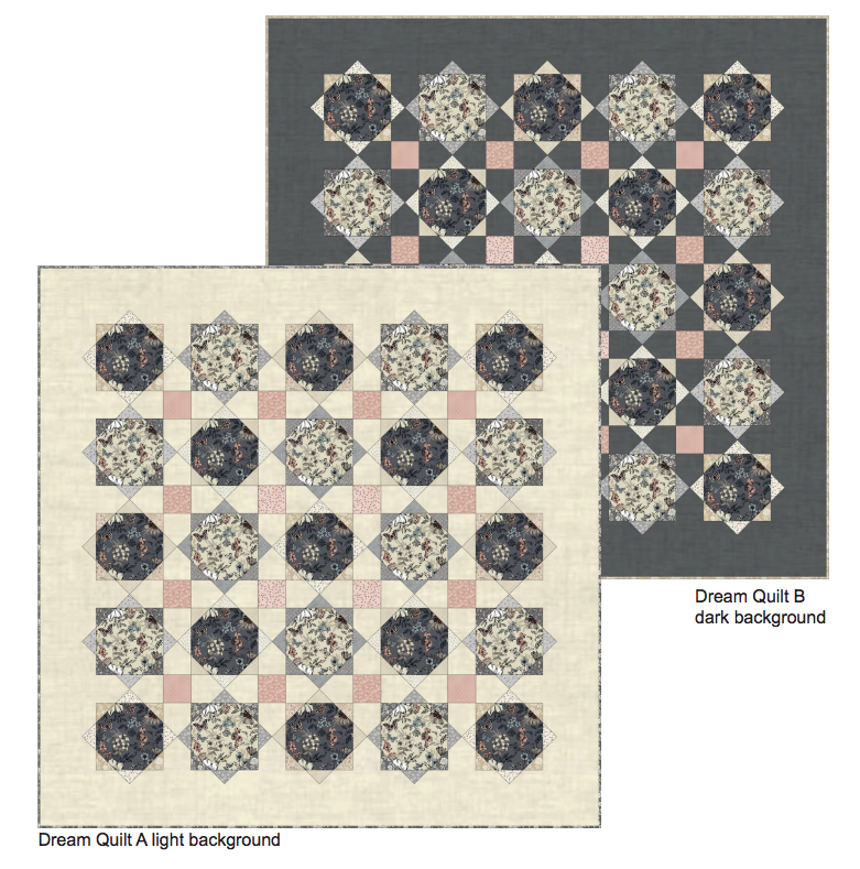 Makower Dream Quilt Pattern Free Project: Instant Download