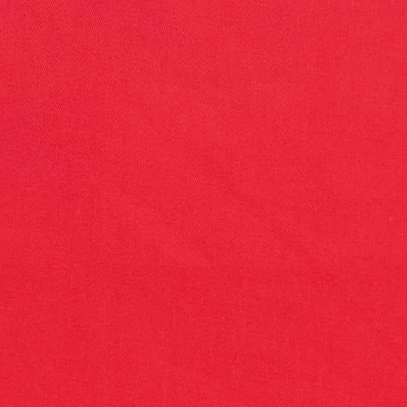 Cotton Drill Solid - Red
