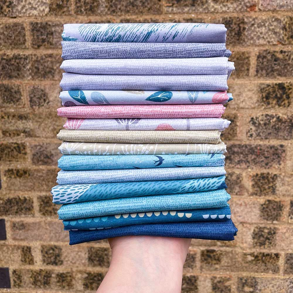 Dashwood Studio  - Elements - Fat Quarter Bundle - 14 Fabrics