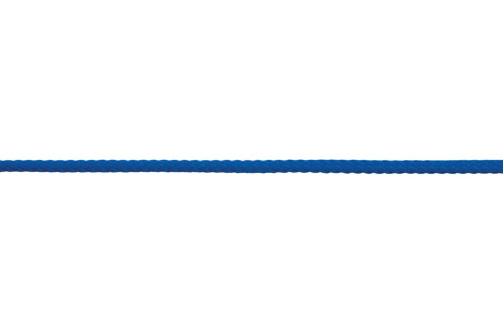 4mm Polyester Braided Cord - Royal