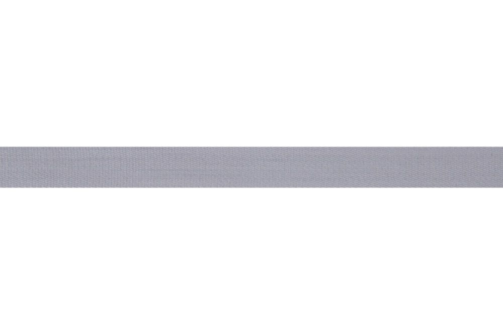 Premium Quality Cotton Tape - 14mm Wide - Light Grey