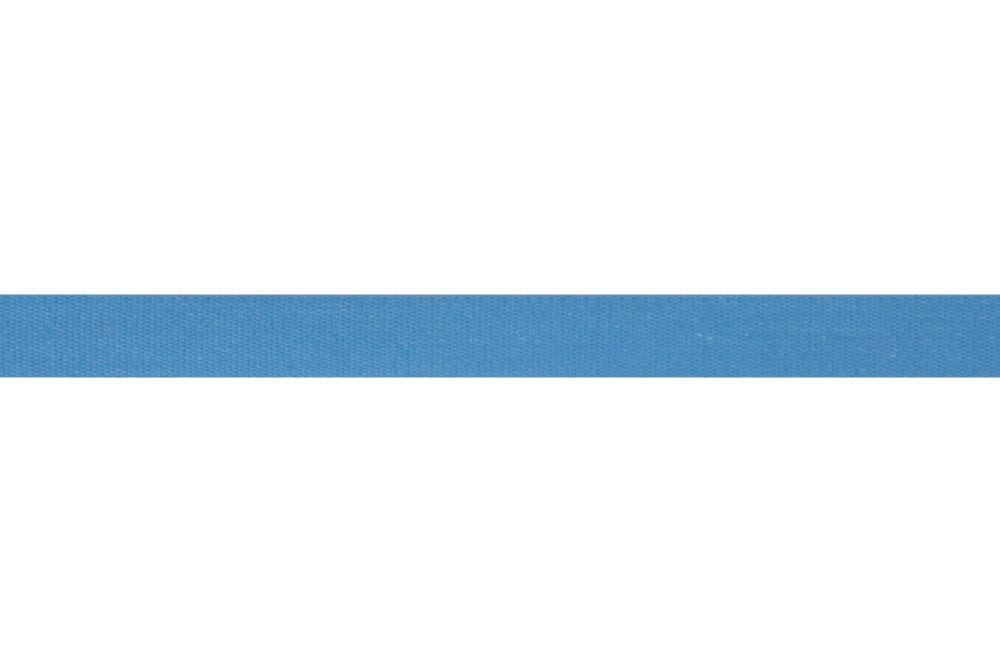 Premium Quality Cotton Tape - 14mm Wide - Mid Blue