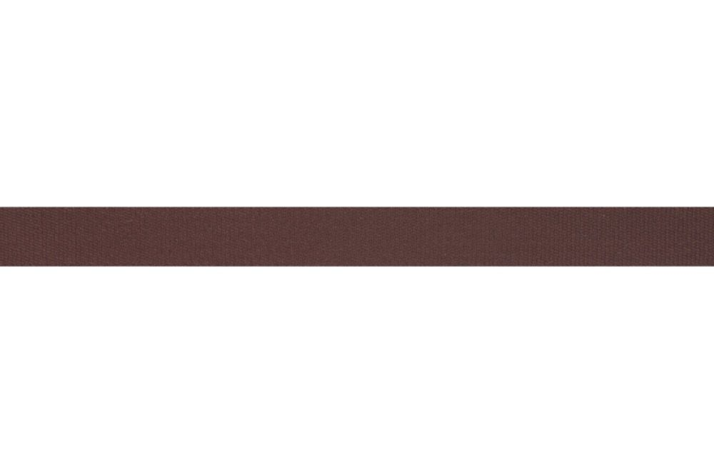Premium Quality Cotton Tape - 14mm Wide - Brown