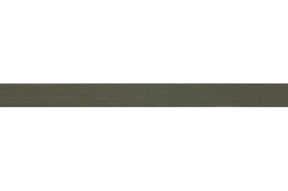 Premium Quality Cotton Tape - 14mm Wide - Olive