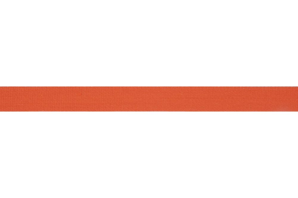 Premium Quality Cotton Tape - 14mm Wide - Orange