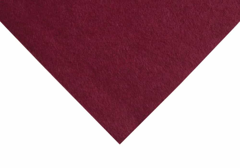 Wool Felt 90cm Or 180cm Wide - Garnet