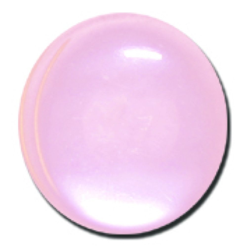 Round Polyester Shank Button - Pink - 20mm / 32L