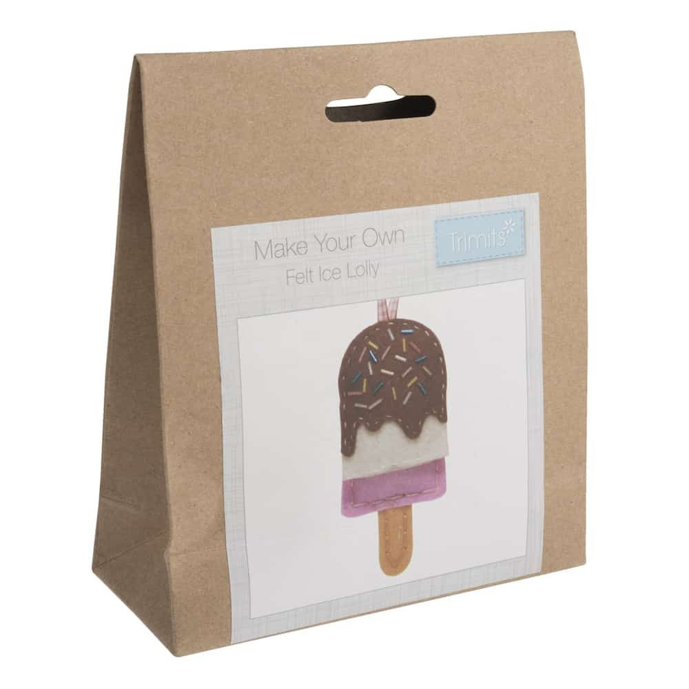 Trimits Felt Decoration Kit: Ice Lolly