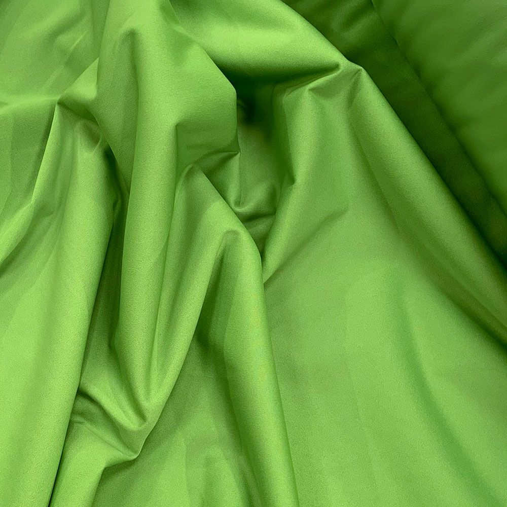 Plush Addict Green PUL Fabric (Polyurethane Laminate fabric) - Waterproof Breathable Fabric