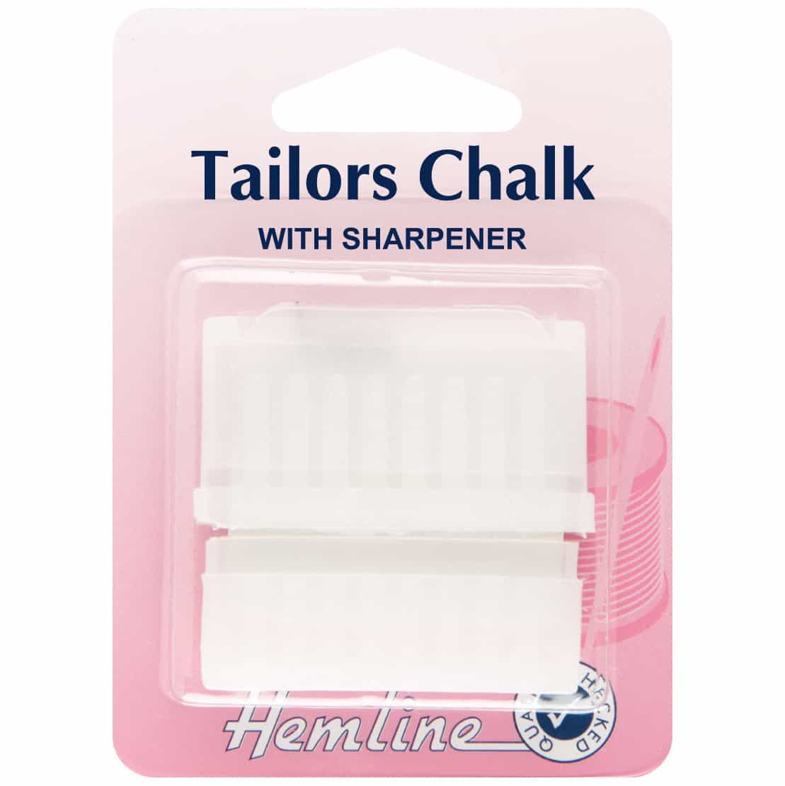 Hemline Tailors Chalk with Sharpener