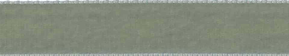 Berisfords Grey Velvet Ribbon - All Widths