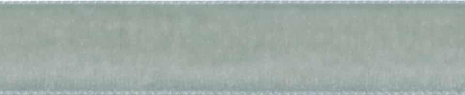 Berisfords Silver Velvet Ribbon - All Widths
